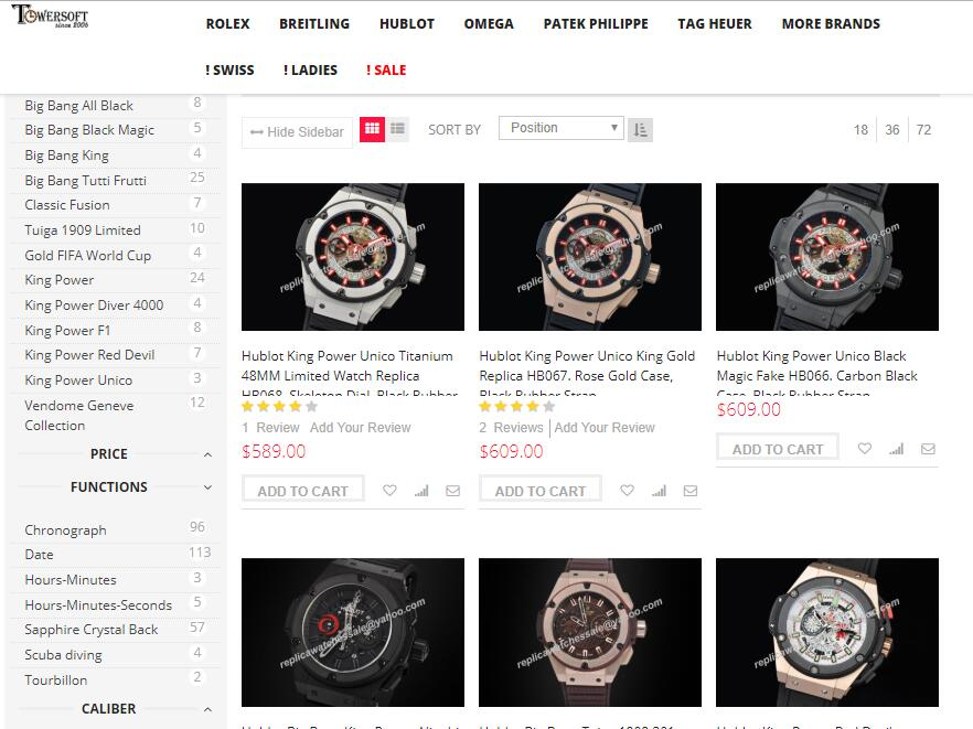 replica hublot watches for sale at sciu.com.au