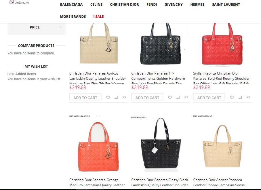 cheap replica dior handbags sale price